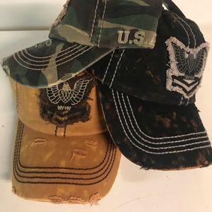 Military Vintage Baseball Cap
